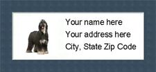 """Afghan Hound  Return Address Labels  - Personalized """"BUY 3 GET ONE FREE"""""""