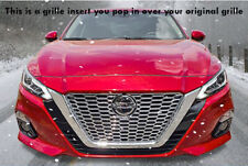 Fits 2019-2020 Nissan Altima chrome grille insert grill overlay trim