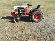 446 case garden tractor with implements