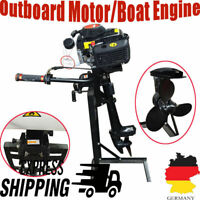 Outboard Motor Boat Engine Heavy Duty 4 Stroke 4HP With Air Cooling System 2.8KW
