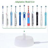 pour Oral B Brosse à Dents Remplacement Chargeur Alimentation Support de Cha Q2V