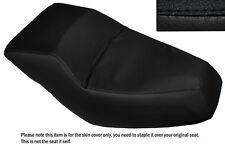 BLACK STITCH CUSTOM FITS HONDA HELIX CN 250 DUAL LEATHER SEAT COVER