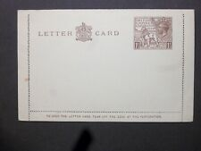 GB Postal Stationery 1924 KGV 11/2d British Empire Exhibition Letter Card LCP10