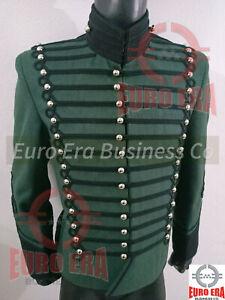 Napoleonic 95th Rifles Officer Tunic Jacket ,Richard Sharpe Hussars Tunic Jacket