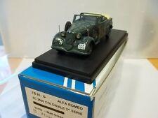 fb model sc1/43 alfa romeo 6c 2500 coloniale 2°serie mussolini 1945