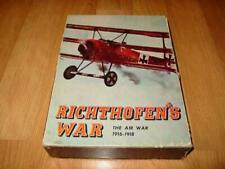 Avalon Hill - Richthofen's War game - The WW1 Air War 1916-1918 (PUNCHED)