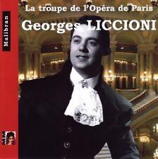 Georges LICCIONI / La Troupe de l'Opera de Paris / (1 CD) / NEUF