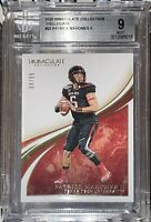 2020 Patrick Mahomes IMMACULATE COLLECTION COLLEGIATE Gold Foil 22 /99 BGS 9 PSA