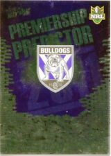 2011  NRL SELECT  STRIKE BULLDOGS PREMERSHIP PREDICTOR CARD UNREDEEMED