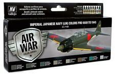 Vallejo 71.169 - Colour Kit, Japanese Luftwaffe Ija Set 2 (14,56 €/ 100ml) - New