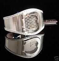 AIGNER Uhr Damenuhr A41212  L AQUILA SWISS Leder Farbe: Silber NEU!