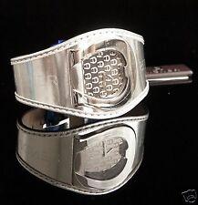 Original AIGNER Uhr Damenuhr A41212  L AQUILA SWISS Leder Farbe: Silber NEU!