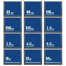 32MB 64MB 128MB 256MB 512MB 2GB 4GB 8GB 32GB Compact Flash Card CF Memory Card