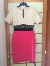 NWT Hybrid crepe two tone dress size UK 12/US 8