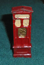 "John Hill and Company (Johillco) Lead ""Ticket Machine"" Excellent Cond. Free Ship"
