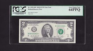 2009 $2 FRN, NEW YORK STAR NOTE, FR#1939-B*,TRIP 0'S, PCGS VERY CHOICE NEW 64PPQ