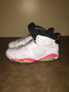 Jordan 6 Retro Infrared White (2014) MENS SIZE 10.5