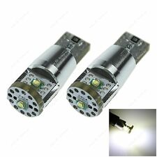 Pair Car 3 CREE LED Canbus Error Free T10 W5W Wedge Side Light Bulb Reading Lamp