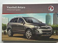 Vauxhall antara cd audio 30 MP3 navi navigation touch & connect manuel de fonctionnement