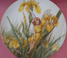 BORDER FINE ARTS THE IRIS FAIRY PLATE CICELY MARY PARKER
