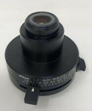 Nikon Microscope Condenser C C Slide Achro Condenser 2 100x