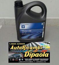5 LITRI OLIO MOTORE 10W-40 ORIGINALE OPEL GM GENUINE ACEA A3/B4 API SL/CF