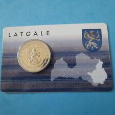 Latvia 2017, Lettonie 2017 - 2 Euro Latgale coincard BU