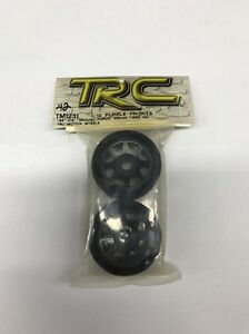 TRC Racing Tires 1/12 Purple Fronts Foam Tyres And Rims #TM1231 OZRC Models
