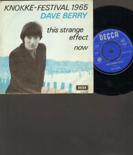 "DAVE BERRY This Strange Effect NOW Single 7"" Inch MONO 1965 KNOKKE Festival"
