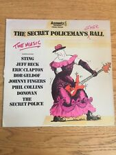 Sting The Police 1981 Lp Vinyl Concert Live Secret Policeman's Other Ball USA PS