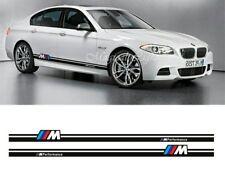 2 Pegatinas decal sticker franja BMW powered by BMW motorsport M5 M3  230 cm