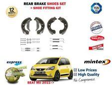 für Seat Mii 1.0 2011> NEU hinten Handbremse Schuh + Montage Set Bremsschuh