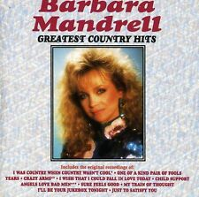 Greatest Country Hits - Barbara Mandrell (1990, CD NUOVO) CD-R