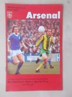 WEST BROM v IPSWICH TOWN - FA CUP SEMI FINAL - PROGRAMME 1978