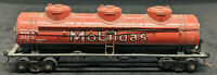 ATHEARN: Mobilgas WSRX 2387 HO Scale BROWN Tank Car 3-DOME  VINTAGE H0