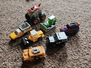 Galoob Micro Machines Steam Roller Monster Truck digger + more