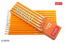 Berol Mirado Pencil 4B 12 Pack S0379920 Writing Pencils Quality Office Drawing