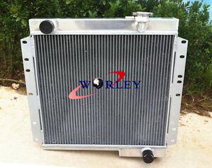 For Toyota Land Cruiser FJ40 FJ45 Petrol GAS MT LandCruiser Aluminum Radiator