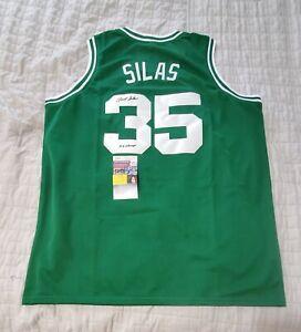 Boston Celtics PAUL SILAS signed autographed custom jersey w/JSA COA