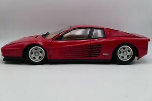 Vintage Pocher 1988 Ferrari Testarossa 1/8 Scale K51 Model Kit Car by Rivarossi