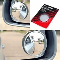 "2x Blind Spot Mirror Round Adhesive 2"" Inch Easy Fit Wide View Angle Car Van"