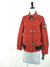 Ralph Lauren Red&Blue Color Women's Denim Crown Crest Jacket Coat Blazer 2X(XXL)
