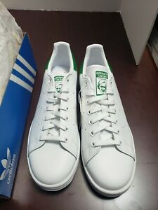 Adidas Originals Stan Smith Shoes Women's sneakers size 11 White and Green