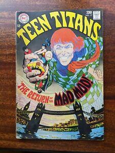 "Teen Titans, "" The Return of the Mad Mod "" #17 ( OCT 1968, D.C. Comics )"