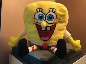 "Nickelodeon Sponge Bob Square Pants Stuffed Plush Toy 14"""