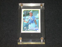 1989 Topps #540 Bo Jackson Hand Signed Autograph On Card Auto Encased