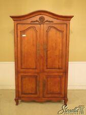 43055EC: CENTURY Country French 4 Door Bedroom Armoire Cupboard