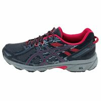 Asics Womens Gel Venture 6 T7G6N Gray Running Shoes Lace Up Low Top Size 10
