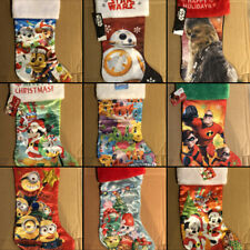 Christmas Stockings - Disney, Marvel, Star Wars, Novelty (You Choose)
