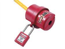 Verrouillage prise électrique couvrir de petites pour 120-240 volt.-lockout / tagout-mlks487